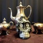 ABQ Death Cafe tea service
