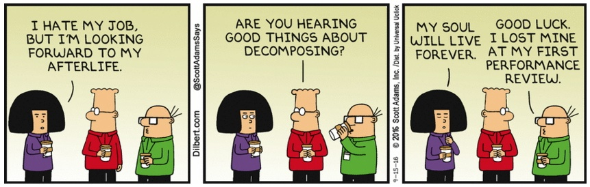 Dilbert Afterlife Decomposing
