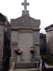 New Orleans cemetery crypt