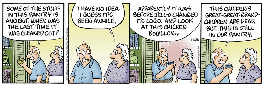 Pickles pantry cartoon