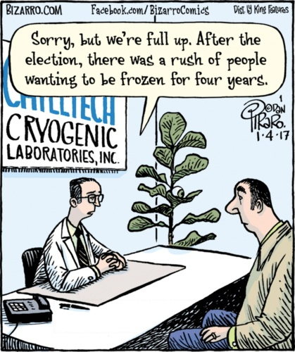 Bizarro on Cryogenics