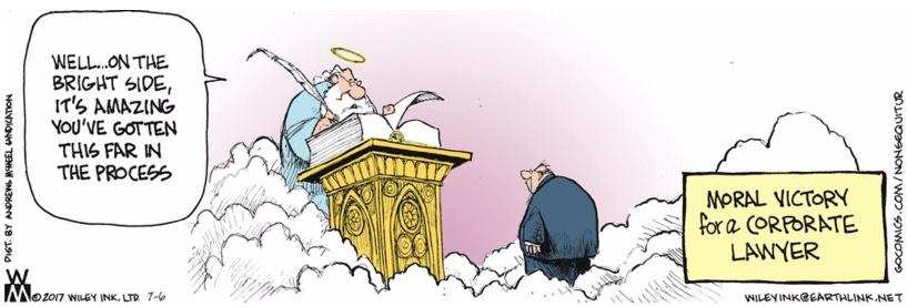 Non Sequitur Heaven Corp Lawyer