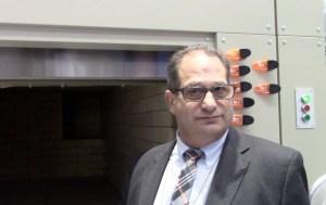 Cremation Retort and Ernie Kassoff