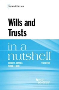 Wills and Trusts in a Nutshell cover