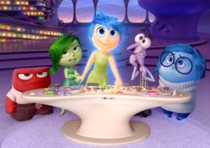 Disney Pixar Inside Out emotions