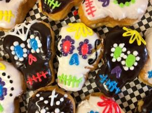 Sugar Skull Donuts