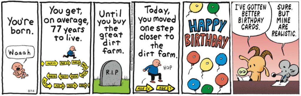 Pearls Before Swine birthday card