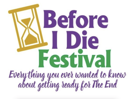 Before I Die Festival logo