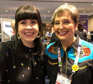 Caitlin Doughty and Gail Rubin NFDA 2019