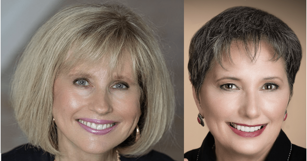 Anne Moss Rogers and Gail Rubin