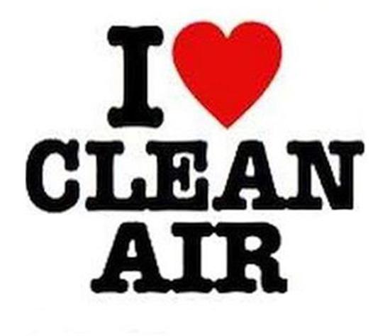 I love clean air