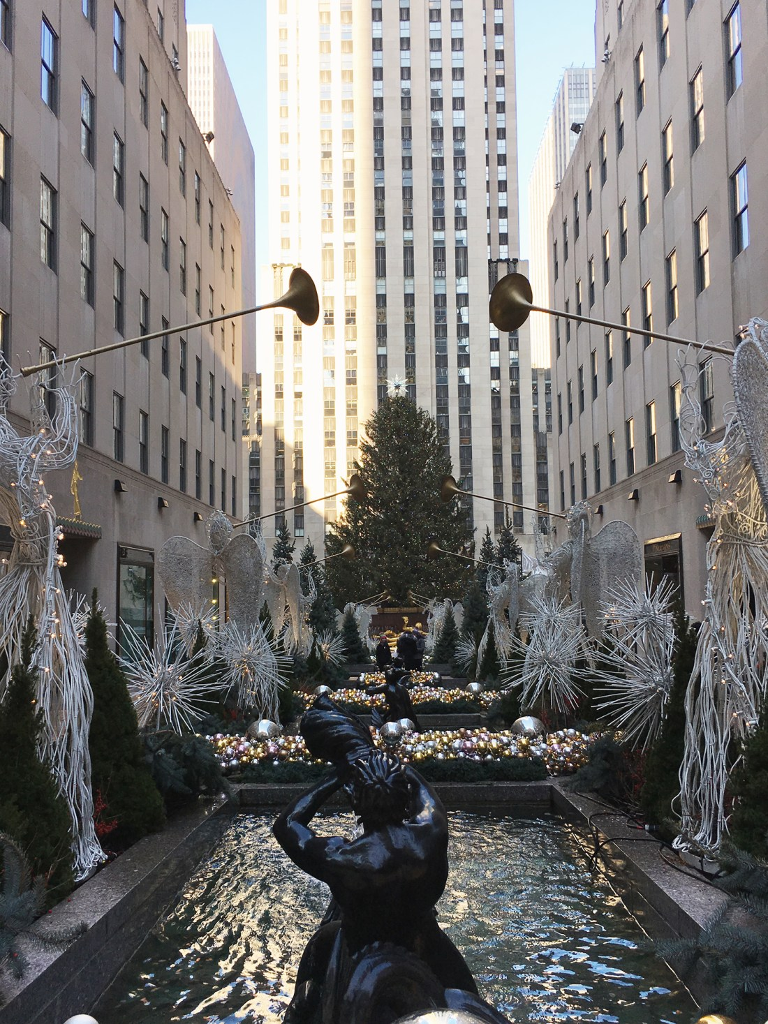 Rockefeller Center Christmas Tree, A Good Hue