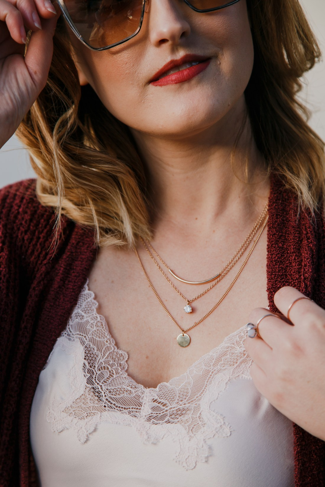 Justfab Layered Necklace