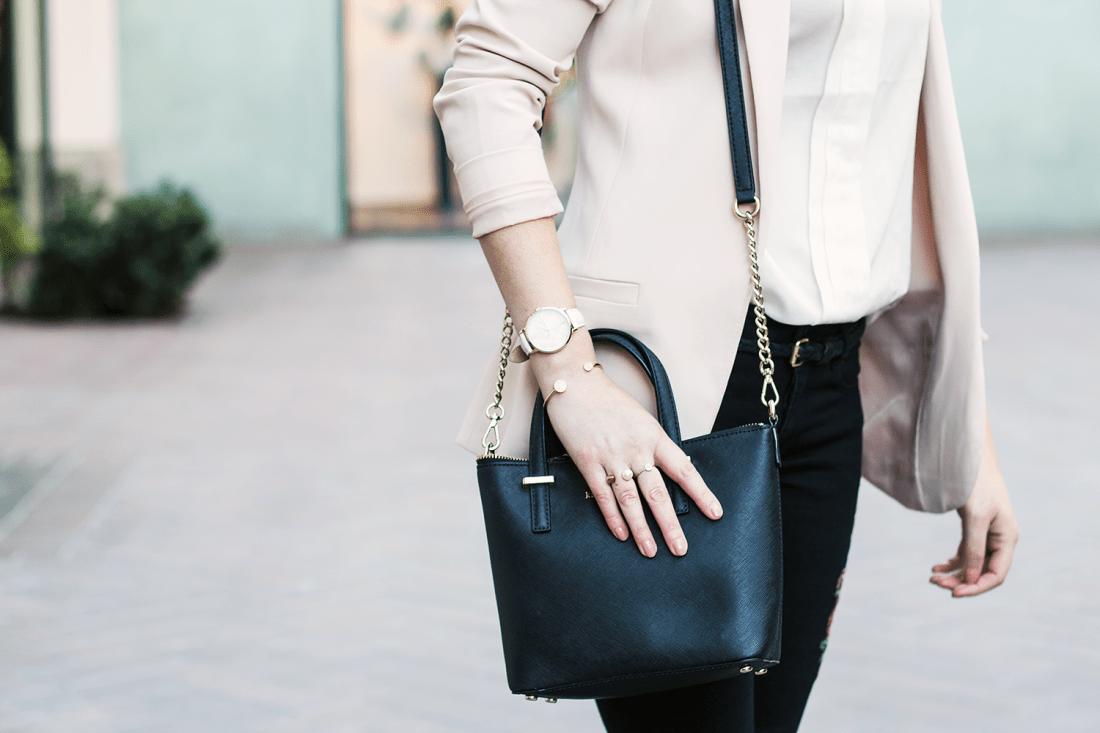 Structured Handbag: Kate Spade New York