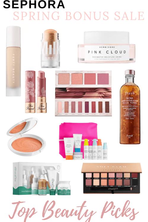 Sephora Spring Bonus VIB Beauty Insider Sale Picks