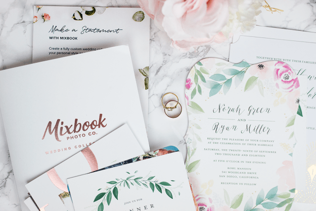 Must-Have Wedding and Bridal Essentials: Mixbook Wedding Stationary | A Good Hue