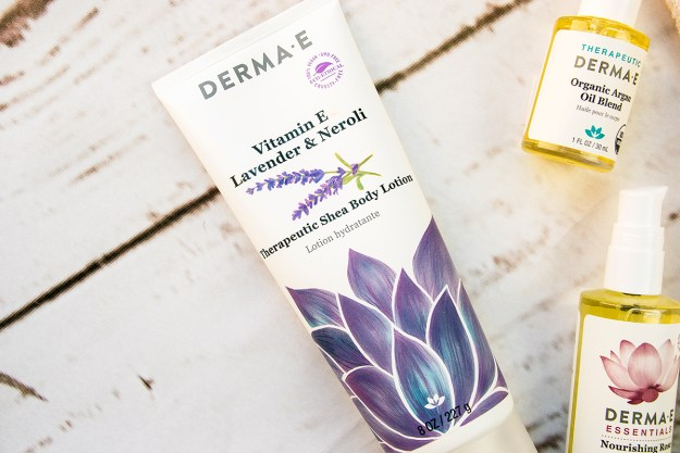 Review: Natural Skincare with Derma E: Vitamin E Lavender & Nerol Sheai Body Lotion | A Good Hue