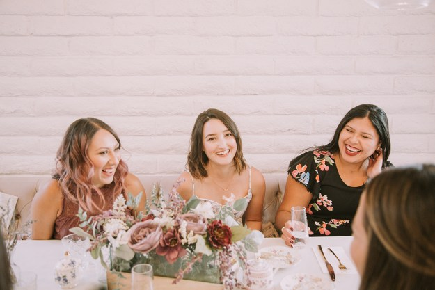 A Bridesmaid Proposal and Afternoon Tea | A Good Hue