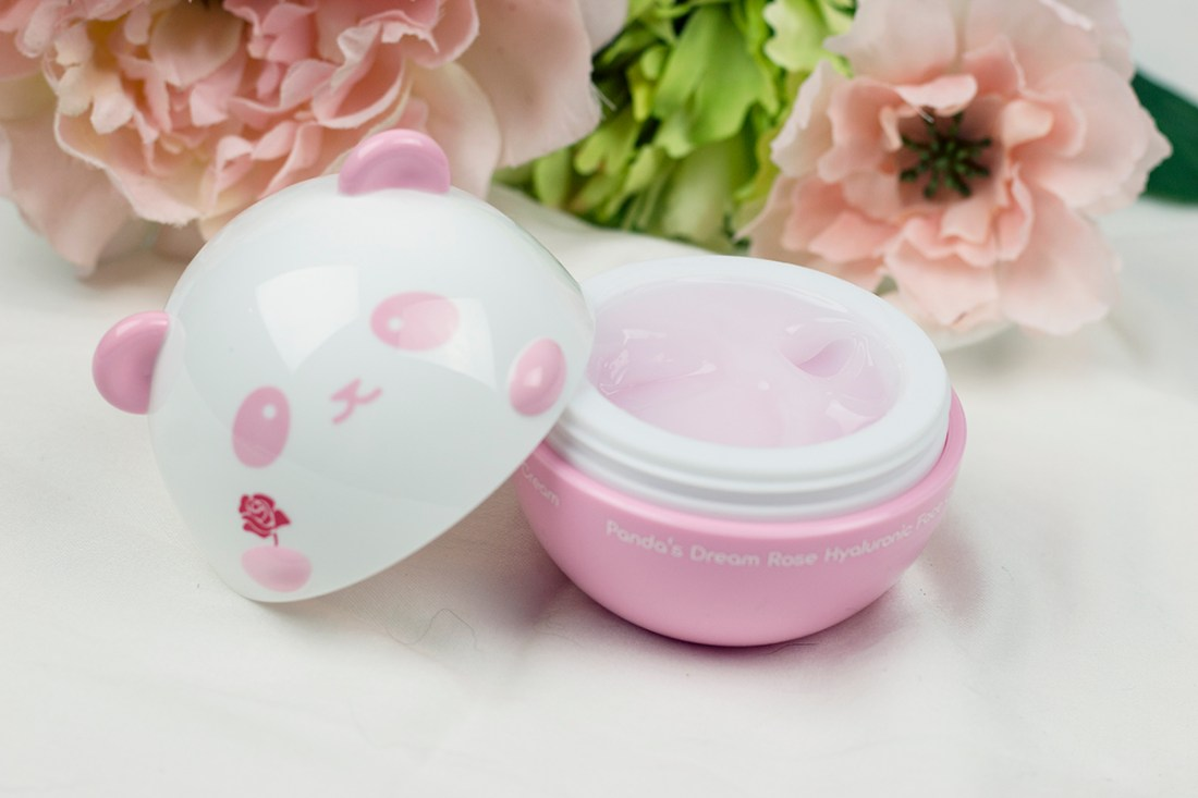 Fave Indie Beauty Skincare: TONYMOLY Panda's Dream Rose Hyaluronic Face Cream  | A Good Hue