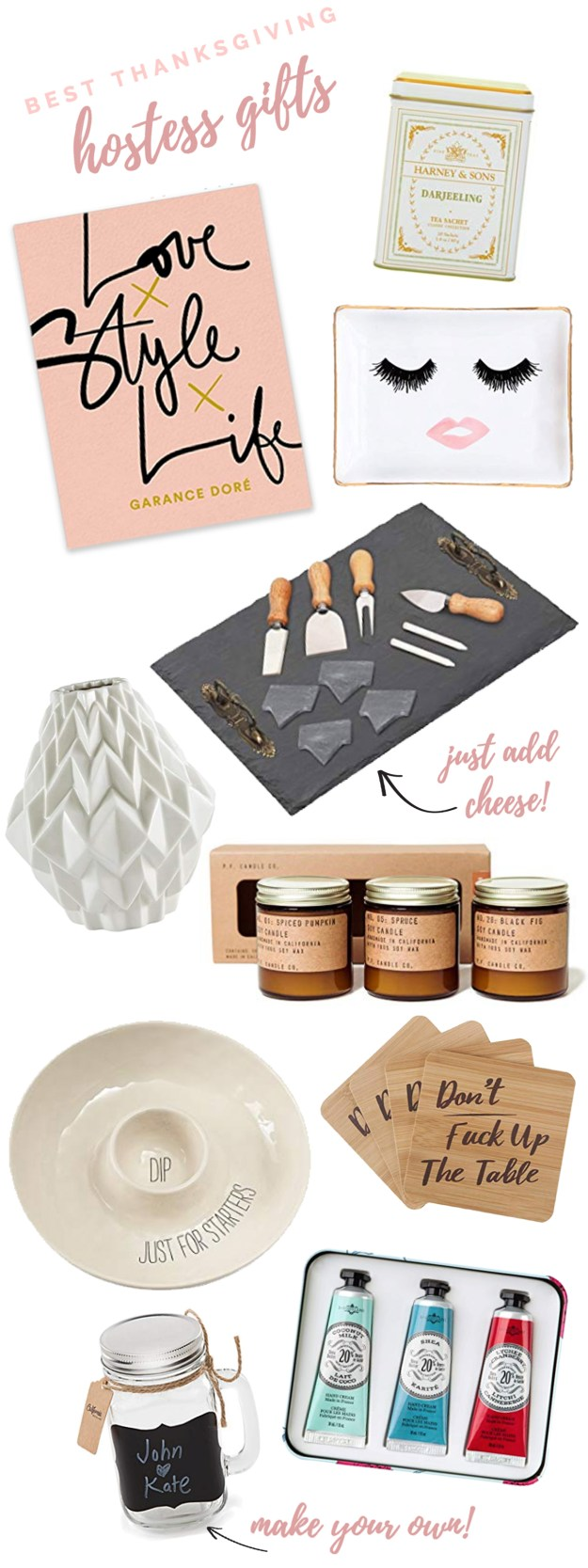 Best Thanksgiving Hostess Gifts from Amazon | A Good Hue