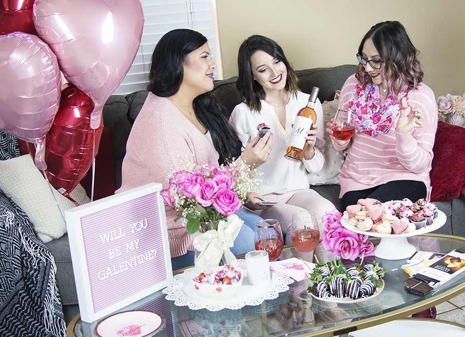 Galentine's Day Celebration | A Good Hue