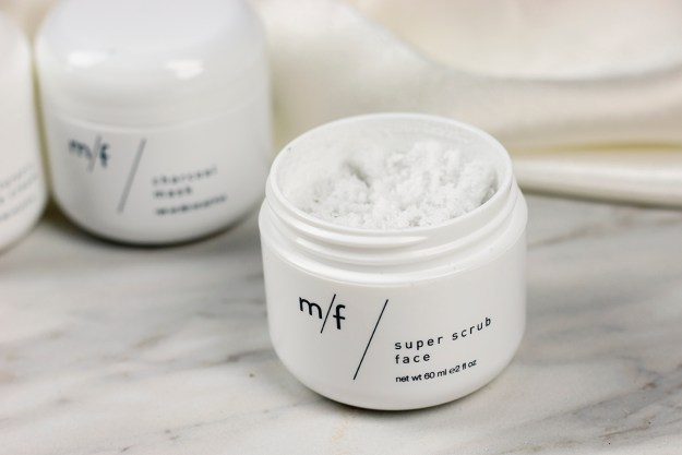 Review: m/f people Super Scrub Face | A Good Hue
