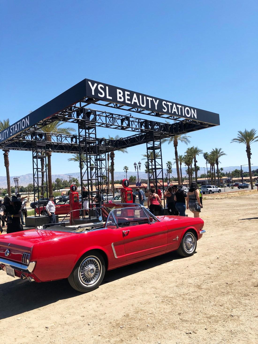 YSL Beauty Station Popup Coachella | A Good Hue