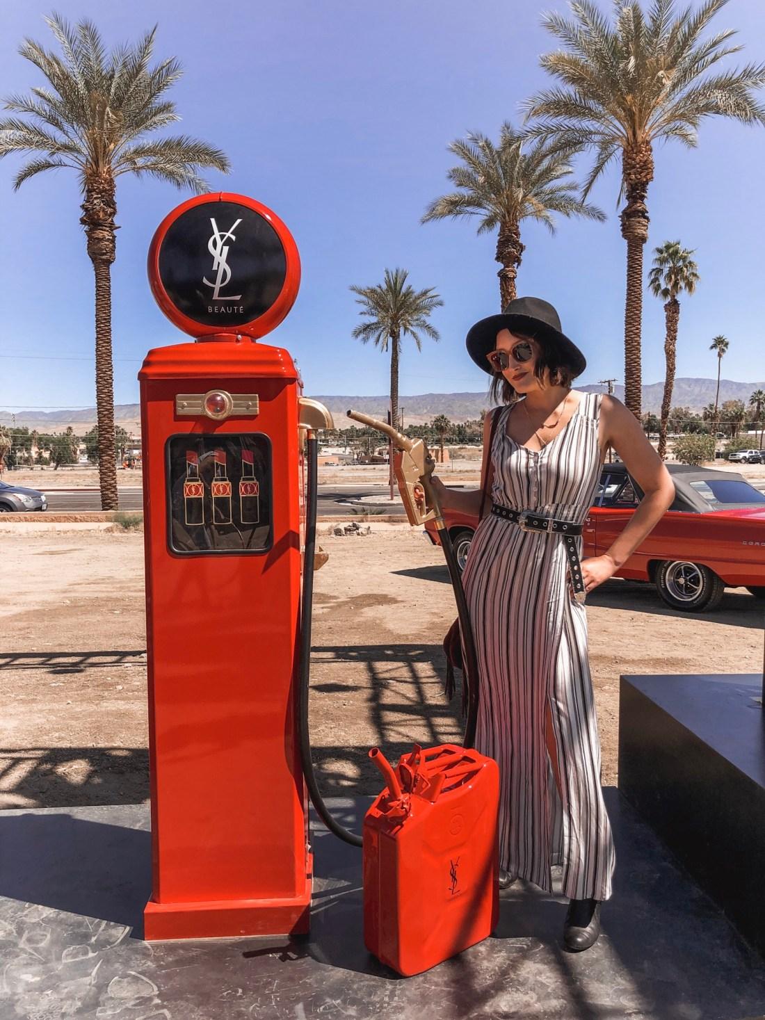 YSL Beauty Station Popup Coachella   A Good Hue
