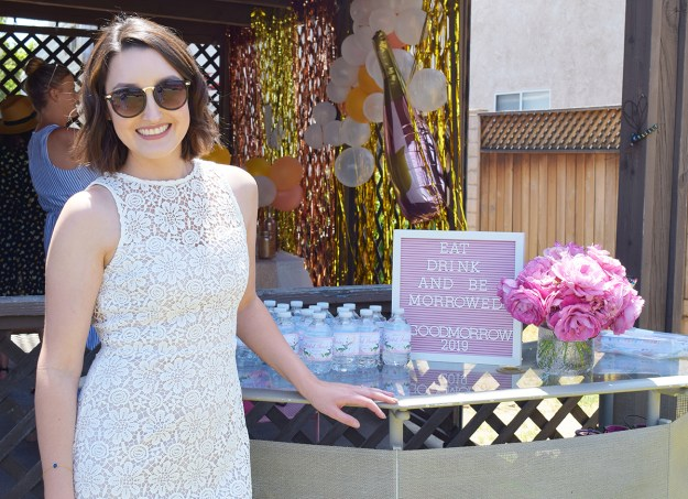 Rosé and Bubbly Bridal Shower   A Good Hue