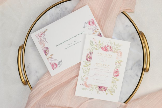 Minted Wedding Invitations | A Good Hue