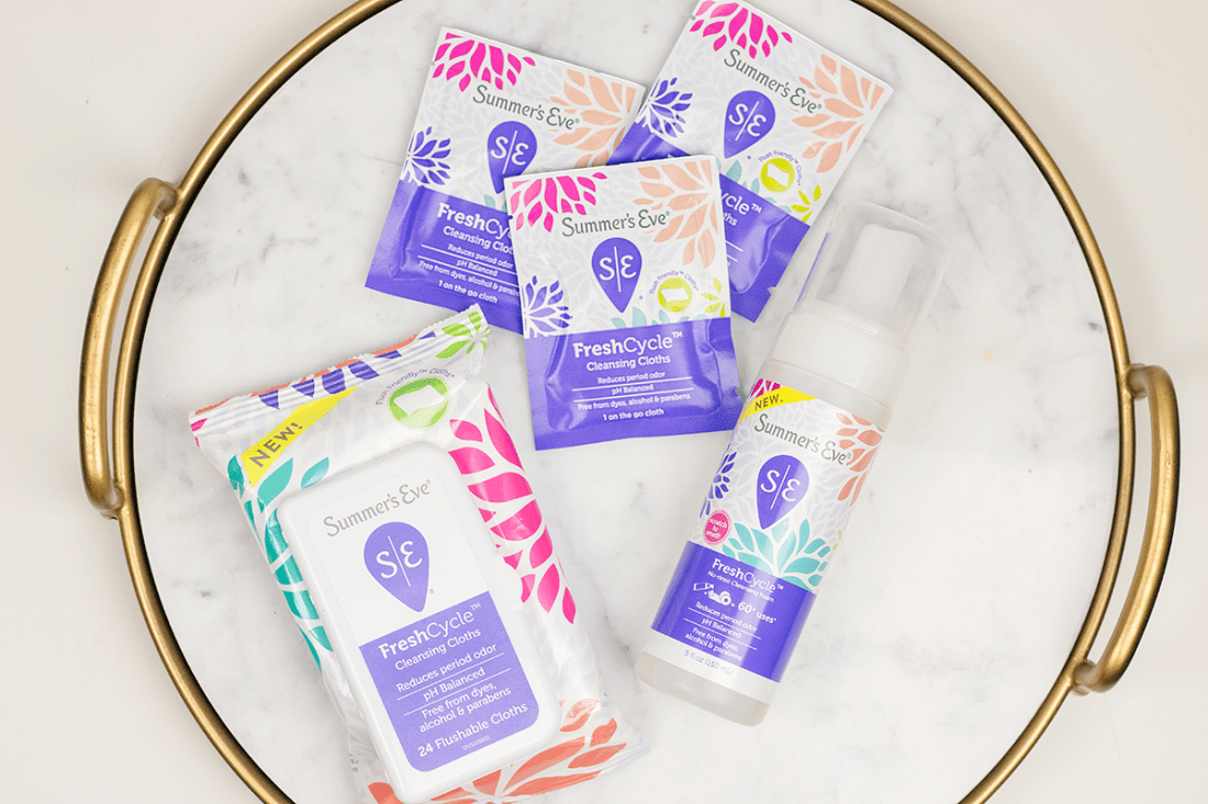 How to Feel Your Best On Your Period with Summer's Eve FreshCycle Review | A Good Hue