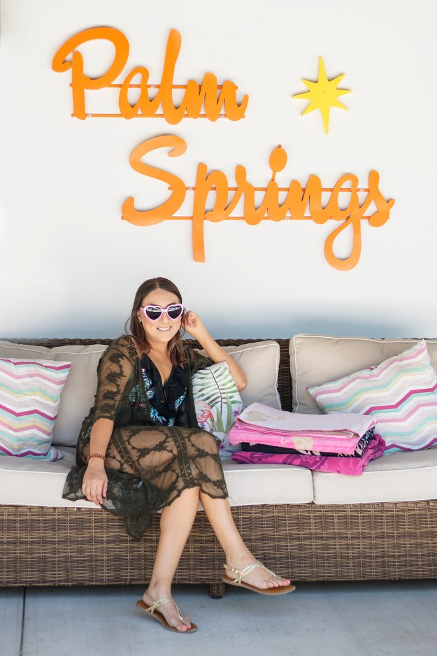 Palm Springs Bachelorette Party | A Good Hue