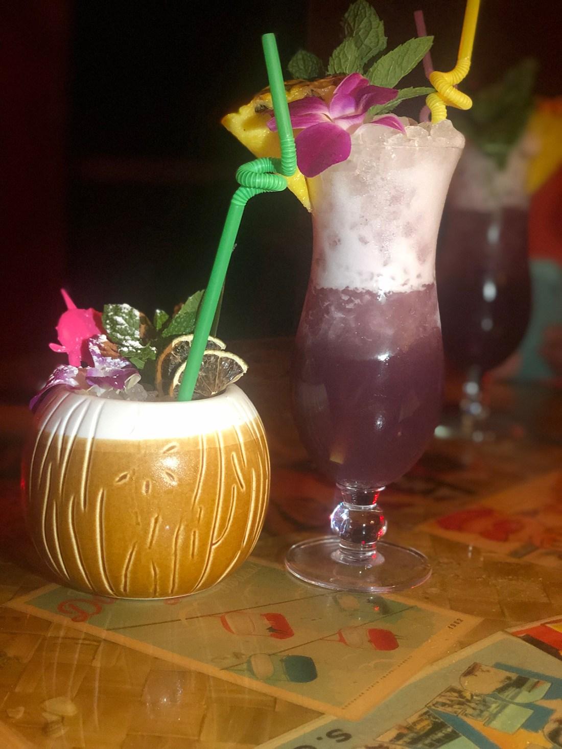 Palm Springs Bachelorette Party- Bootlegger Tiki | A Good Hue