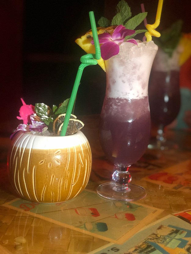 Palm Springs Bachelorette Party- Bootlegger Tiki | A Good Hue