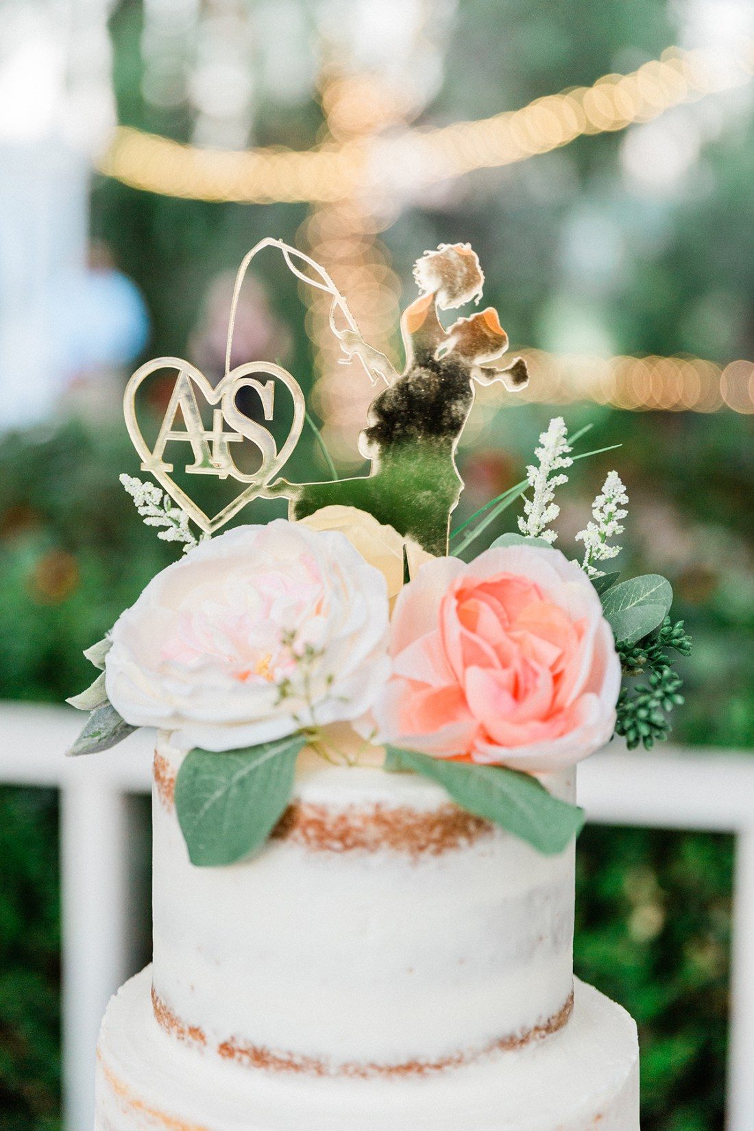 Custom Fishing Wedding Cake Topper | A Good Hue