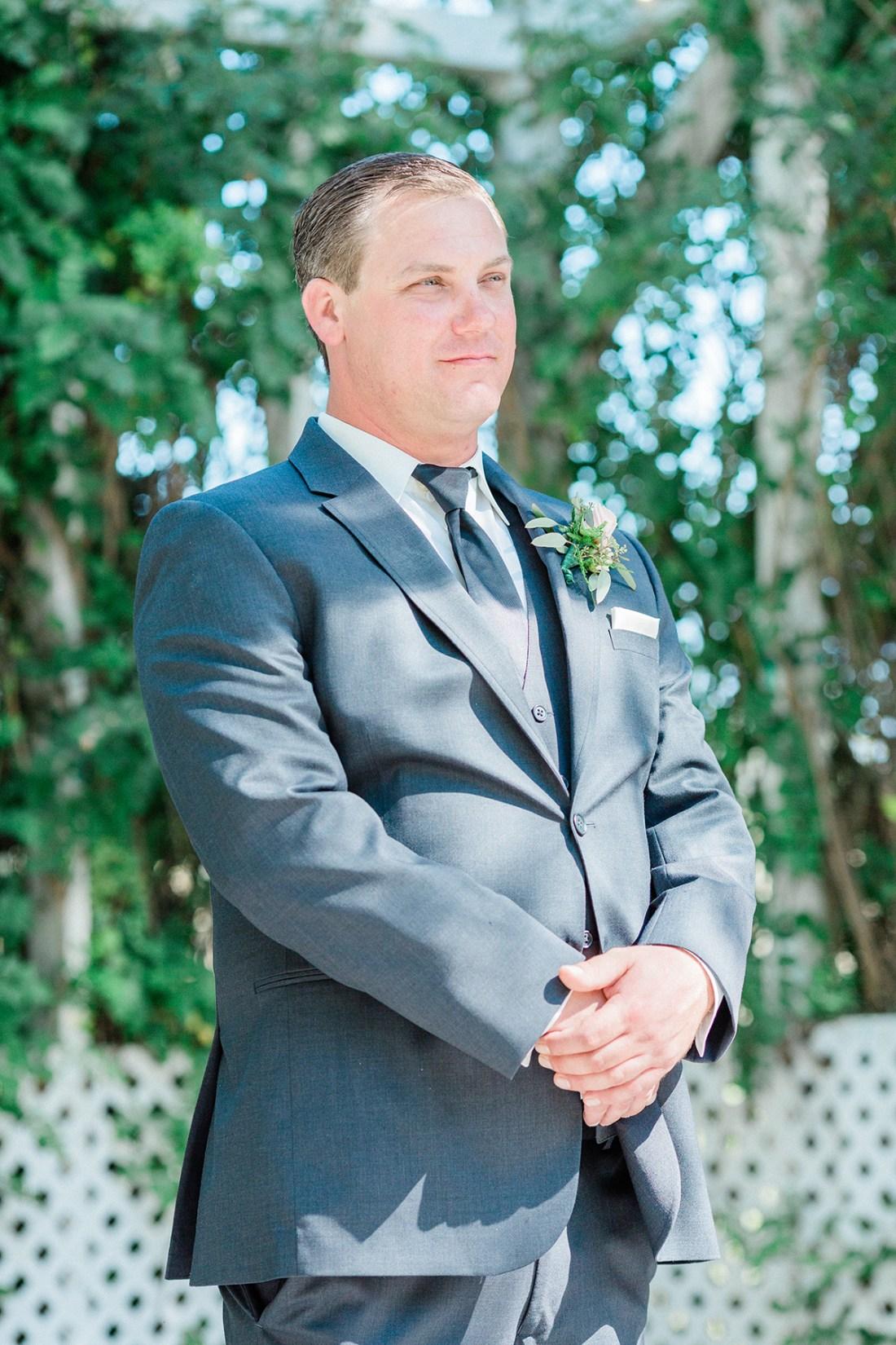 Steve Waiting for His Bride   A Good Hue