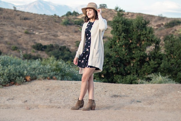 Summer to Fall Transitional Outfit | A Good Hue