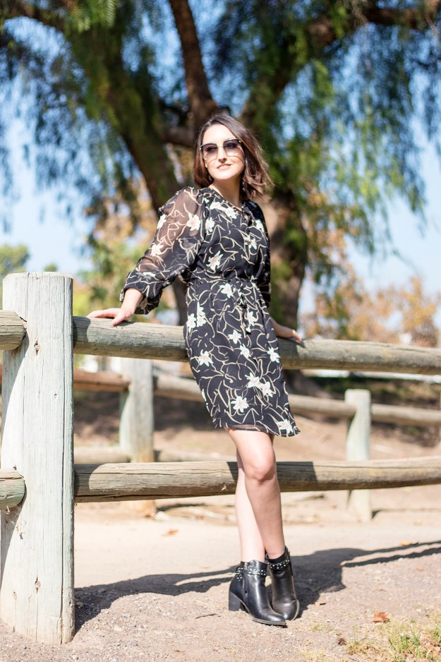 Chic, Affordable Fall Style with Elizabeth and James at Kohl's | A Good Hue