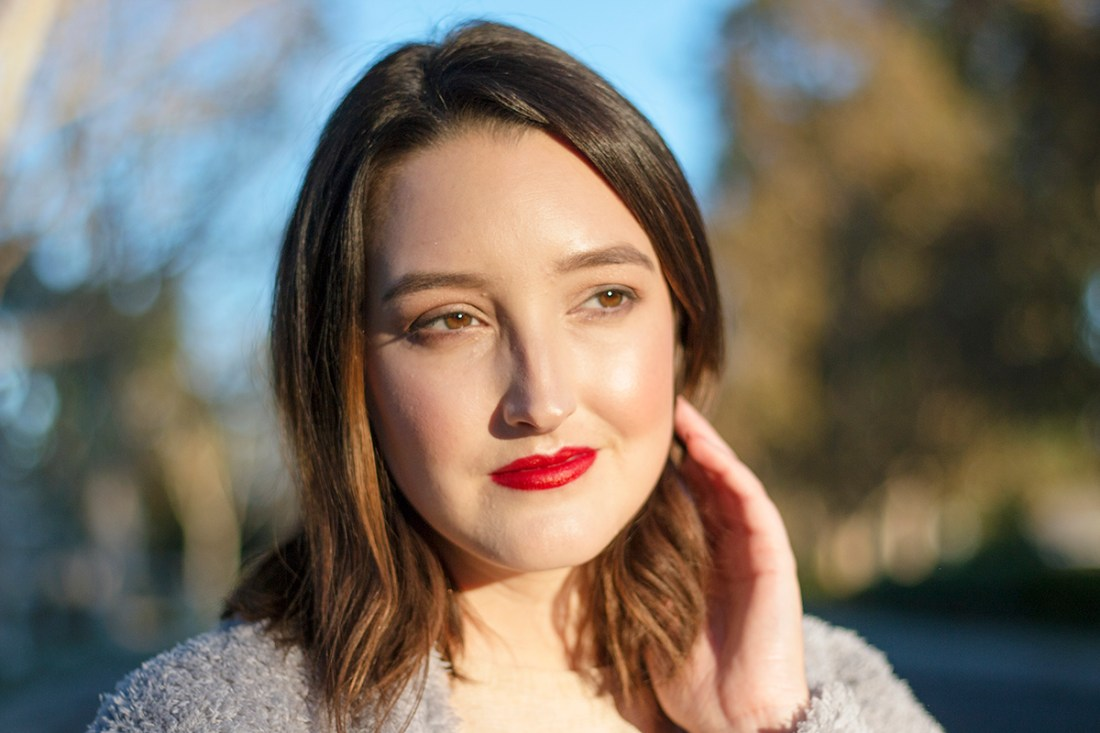Easy Holiday Makeup Look | A Good Hue