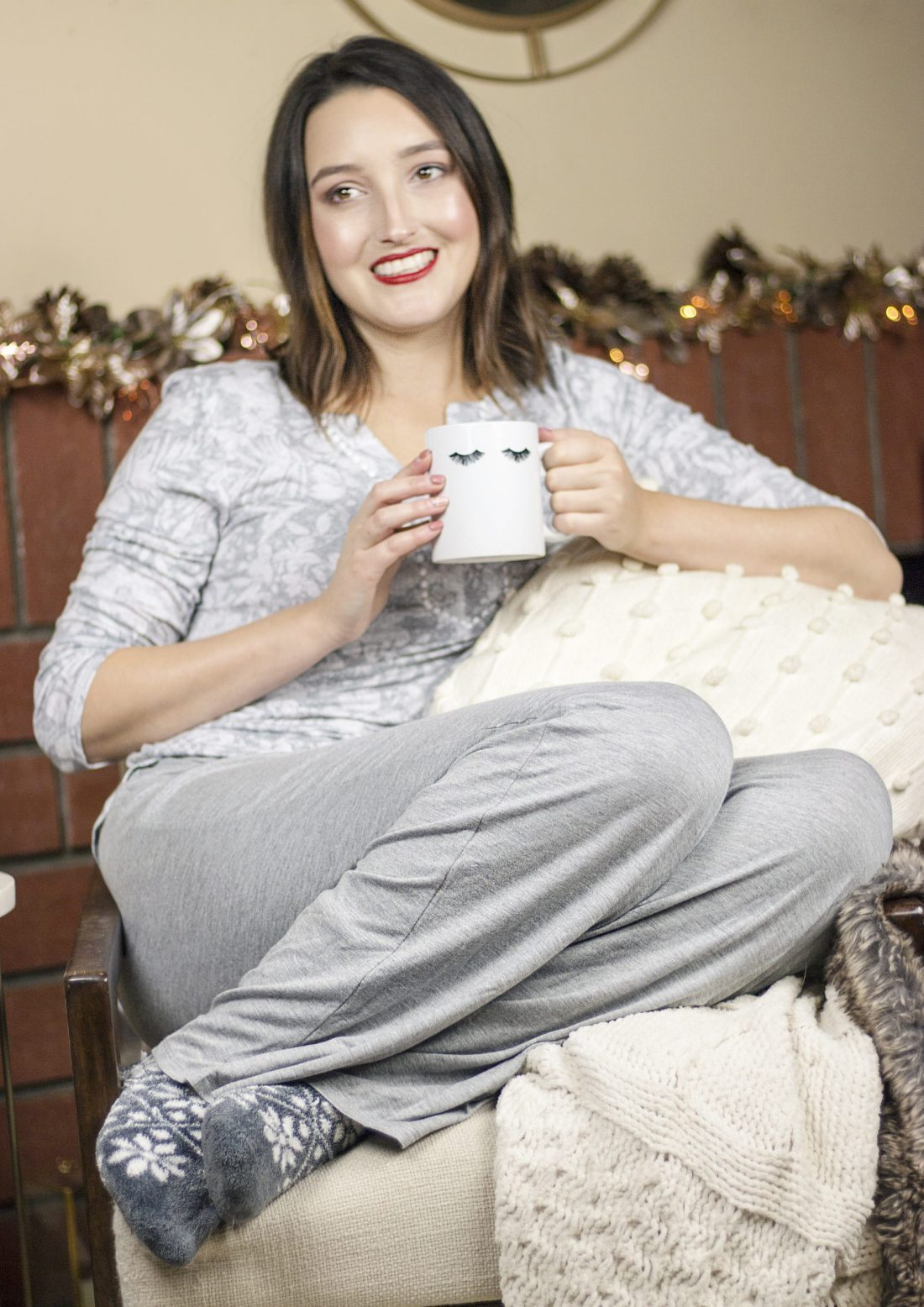 Cozying Up with Ellen Tracy Loungewear | A Good Hue