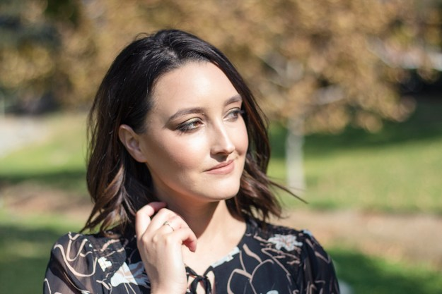 Fall Smokey Eye Makeup Look | A Good Hue