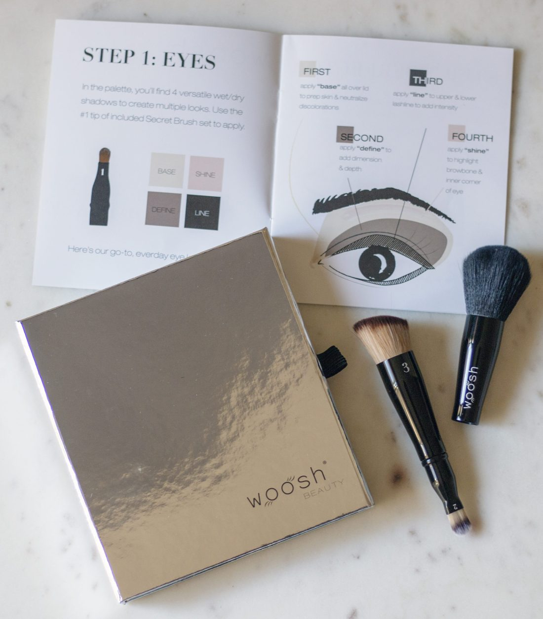 Woosh Beauty Fold Out Face All-in-One Palette Review | A Good Hue
