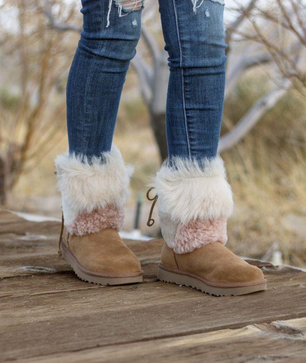 Winter Style: Ugg Patchwork Fluff Boots | A Good Hue