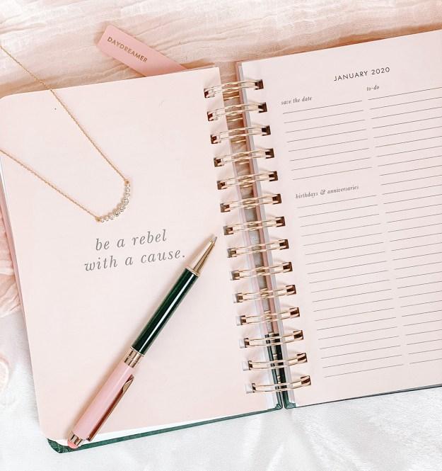2020 Goals & Resolutions | A Good Hue