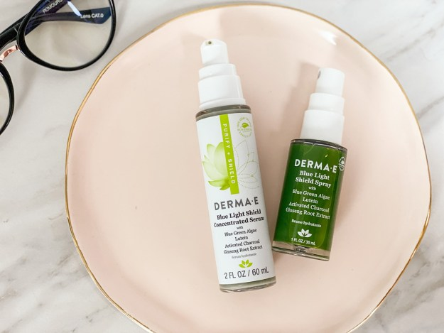 DermaE Blue Light Shield Skincare | A Good Hue