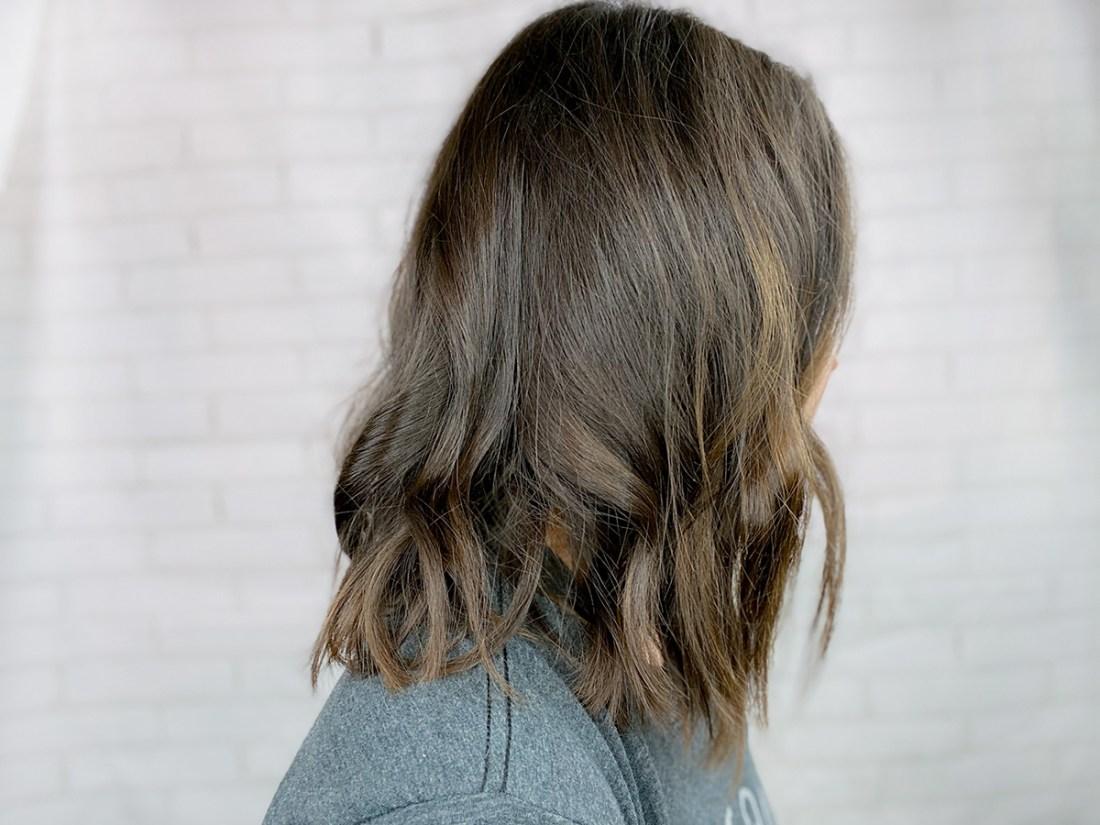 Brown Lob Hairstyle | A Good Hue