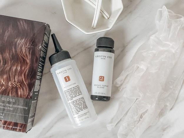 Review: Kristin Ess Signature Gloss Hair Treatment | A Good Hue