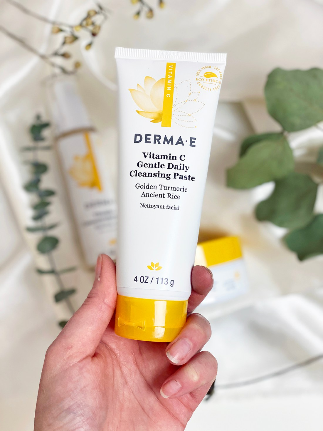 Derma E Vitamin C Cleansing Paste   A Good Hue