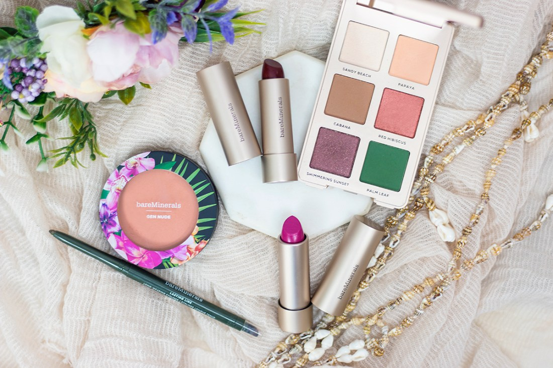 Bare Minerals Beauty of Nature Collection Review | A Good Hue