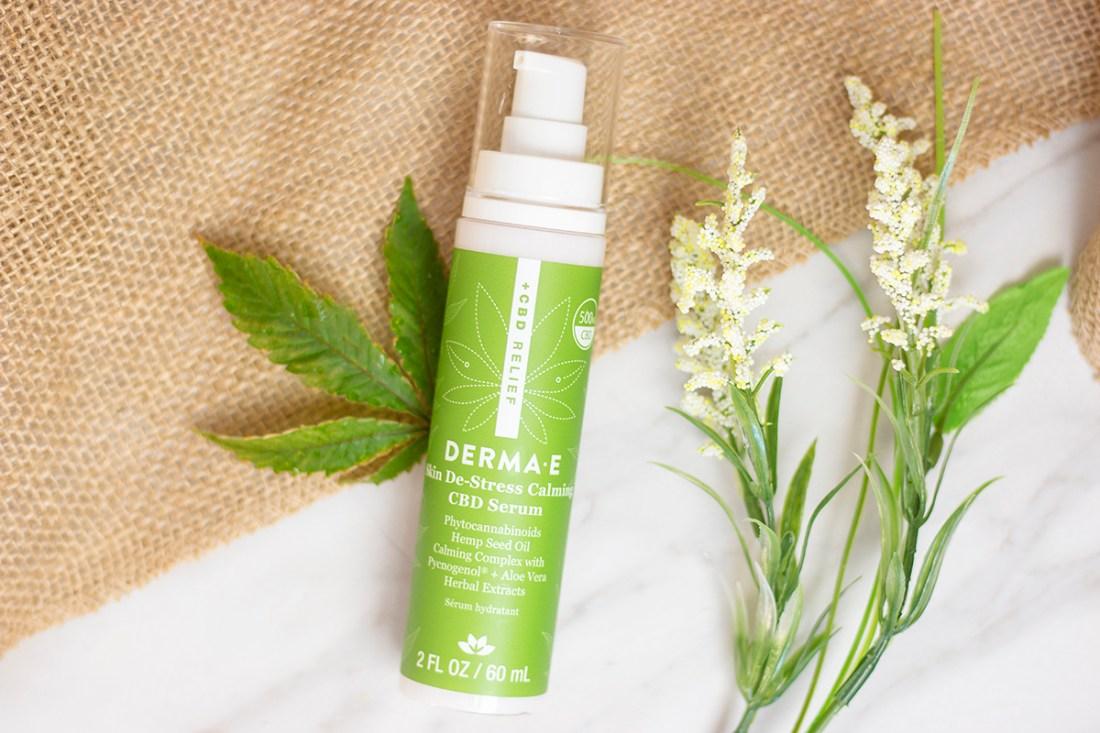 Review: DERMA E CBD Relief Skin DeStress Calming Serum   A Good Hue